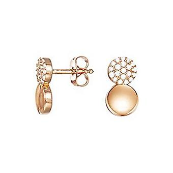 ESPRIT women's earrings Silver Gold cubic zirconia ESER93056D000