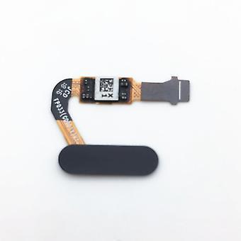 Pour Huawei P20 par capteur d'empreintes digitales Flex Flex cable Accueil entrez bouton noir