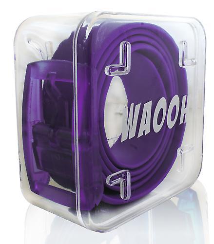 Waooh - Gürtel-Kunststoff Waooh violett