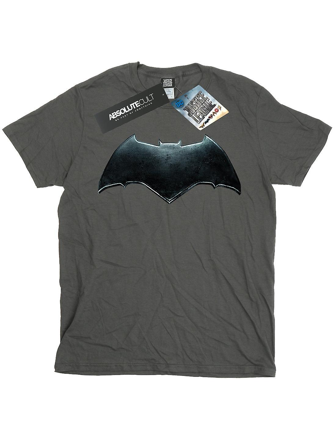 DC Comics meisjes Justice League film Batman embleem T-Shirt