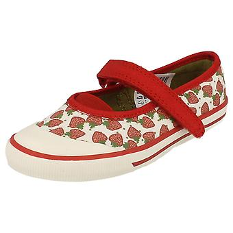 Girls Clarks Doodles Glam Berry