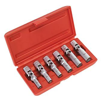 Sealey Sx0403 Glow/Spark Plug Socket Set 6Pc 3/8Sq Drive
