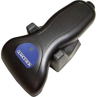 Glancetron 2009 PS/2-Kit (KBW) Barcode scanner con filo 1 imager lineare D nero portatile PS/2