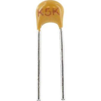 Ceramic capacitor Radial lead 820 pF 100 V 5 %