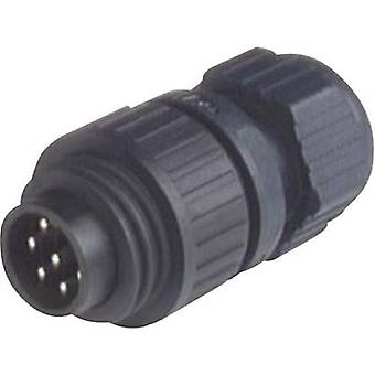 Hirschmann 934 126-100 CA 6 LS CA Series Mains Voltage Connector Nominal current (details): 10 A/AC/DC Number of pins: 6