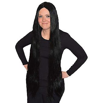 Extra Long Black Wig 90cm / 36