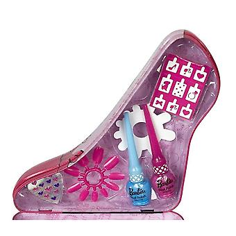 Barbie Shoe Beauty Case Manicure Set