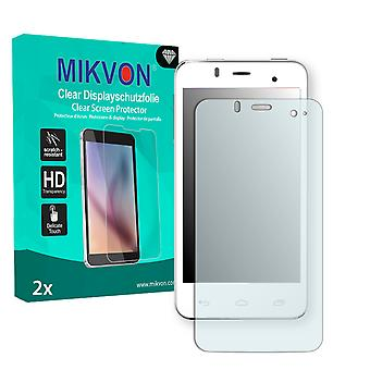 Alcatel One Touch Star 6010D Screen Protector - Mikvon Clear (Retail Package with accessories)