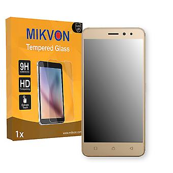 Lenovo K6 Screen Protector - Mikvon flexible Tempered Glass 9H (Retail Package with accessories)