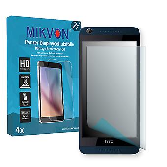 HTC Desire 626G Dual Sim Screen Protector - Mikvon Armor Screen Protector (Retail Package with accessories)