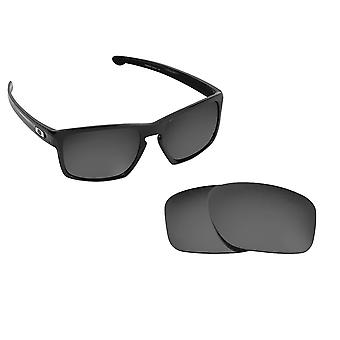 Best SEEK Polarized Replacement Lenses for Oakley SLIVER Silver Mirror