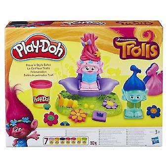 Hasbro Play-Doh trolls hair salon