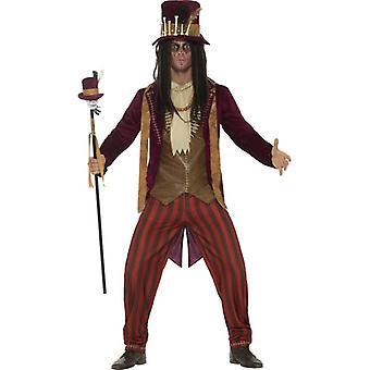Deluxe kostuum van Voodoo witch doctor