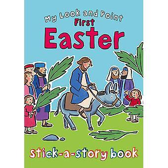 Mi mirada y punto primera Pascua palillo una historia libro de Christina Goodin