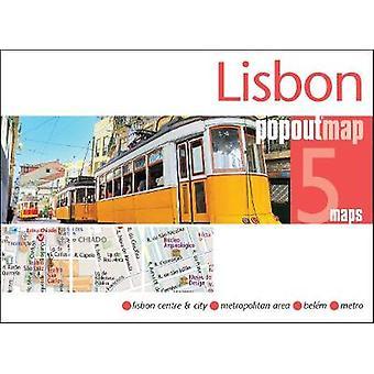 Lisbon PopOut Map by PopOut Maps - 9781910218488 Book
