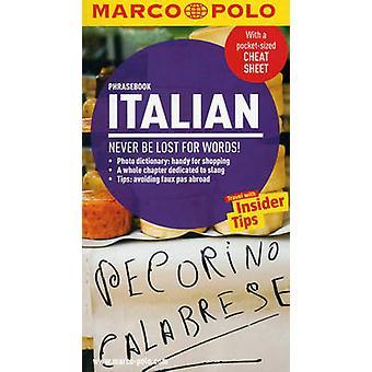 Italian Marco Polo Phrasebook by Marco Polo - 9783829708210 Book