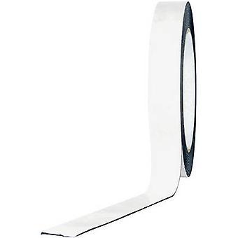 TOOLCRAFT 1811B1533C doppelseitiges Klebeband weiß (L x B) 33 m x 15 mm 1 Brötchen