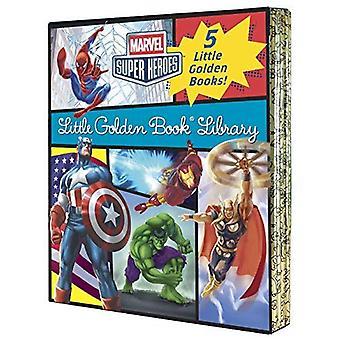 Förundras över lite gyllene bok bibliotek (Marvel Super Heroes)