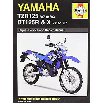 Yamaha Tzr125 (87 93) & Dtr125r (88 02)