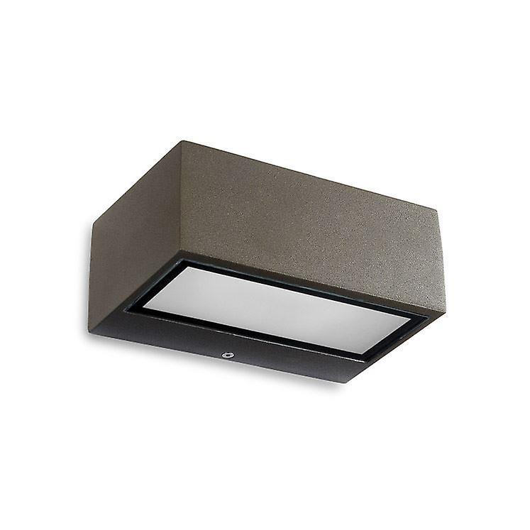 Némésis mur LED luminaire marron - Leds-C4 05-9800-J6-CL