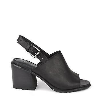 Sorel Nadia noir cuir Slingback Sandal