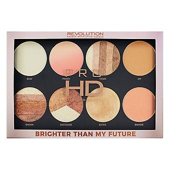Makeup Revolution Pro HD Palette Amplified Brighter Than My Future