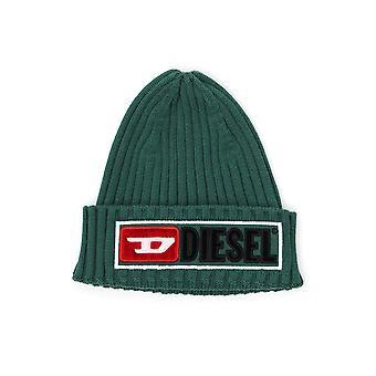 Diesel Green Wool Hat