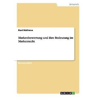 Markenbewertung Und Ihre Bedeutung Im Markenrecht by Malinova & Dani