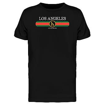 Los Angeles City Fashion Graphic Tee Men's -Image by Shutterstock