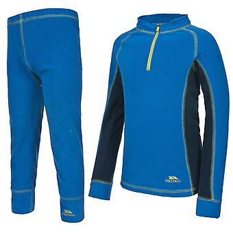 Trespass Childrens/Kids Bubbles Fleece Baselayer Set