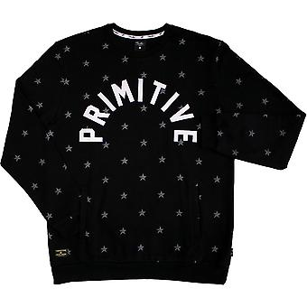 Primitive Apparel North Star Crewneck Black