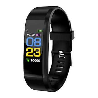 Stuff Certified ® Original ID115 Plus Smartband Sport Smartwatch Smartphone Watch iOS Android Black