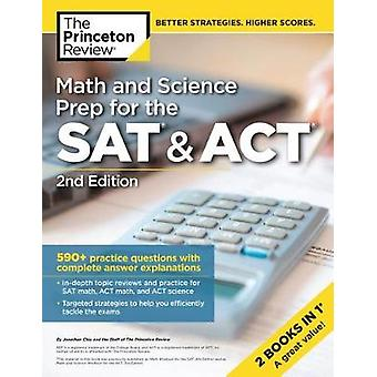 Math and Science Prep for the SAT and ACT by Princeton Review - 97805