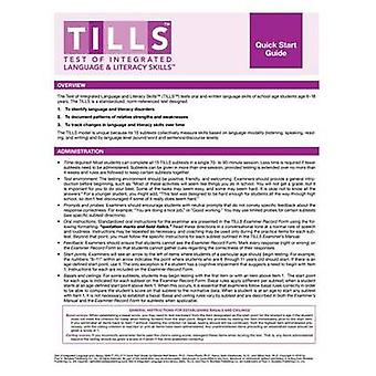 Test of Integrated Language and Literacy Skills (Tills) Quick Start G