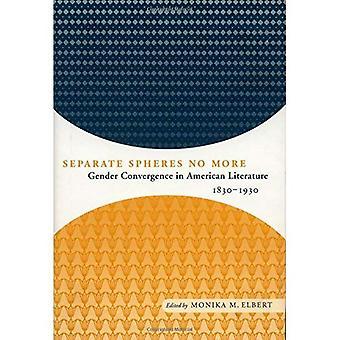 Separata sfärer inte mer: Kön konvergens i amerikansk litteratur, 1830-1930