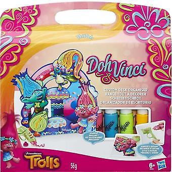Play-Doh DohVinci Trolls Custom Desk Organizer