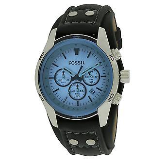 Fossil Sporty Leather Mens Watch CH2564