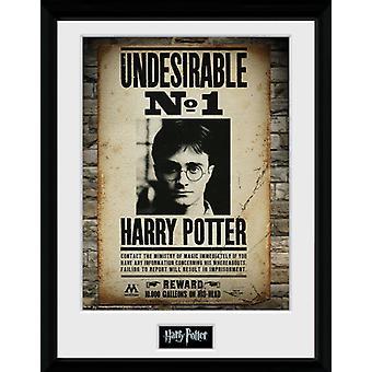 Harry Potter unerwünscht keine 1 gerahmtes Collector Print 40x30cm