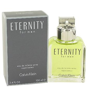 ETERNITY de Calvin Klein Eau De Toilette Spray 3.4 oz/100 ml (hombres)