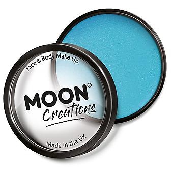 Moon Creations - Pro Face & Body Paint Cake Töpfe - Aqua