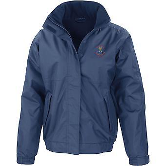 Royal Army fysieke Training Corps PTI-Color-gelicentieerd Britse leger geborduurd waterdichte jas met fleece innerlijke
