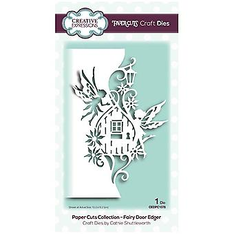 Creative Expressions Die Fairy Door Edger | Paper Cuts Collection