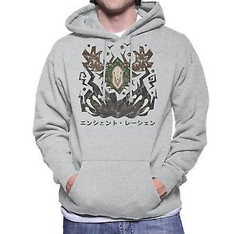 Monster Hunter World Ancient Leshen Kanji Icon Men's Hooded Sweatshirt