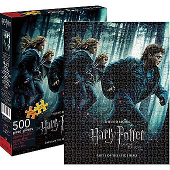 Harry Potter Deathly Hallows Pt. 1 500 piece jigsaw puzzle   (nm 62118)