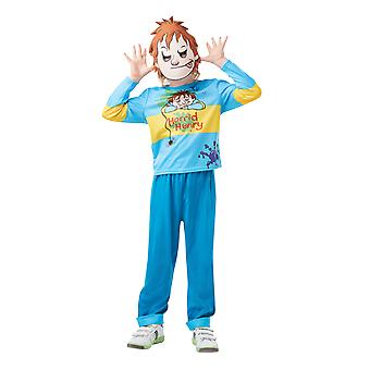 Boys Age 5 - 12 Years Horrid Henry Costume World Book Day Fancy Dress