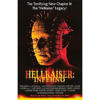 Hellraiser: Inferno (Vidéo) (2000) Affiche vidéo originale