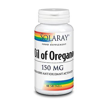 Solaray Oil of Oregano Aerial Extra 150mg Softgels 60 (5112)