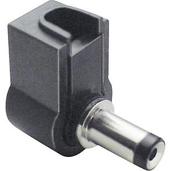 Low power connector Plug, right angle 4.75 mm 1.7 mm