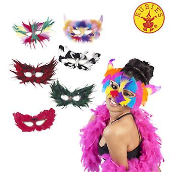 Rubie's Feather Mask 6 Models Stdos. (Costumes)