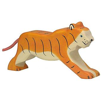 Goki Tiger, running (Toys , Dolls And Accesories , Miniature Toys , Animals)